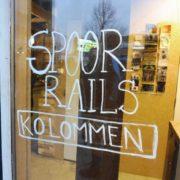 Hergebruikte Spoorrails spoorkolommen Utrecht