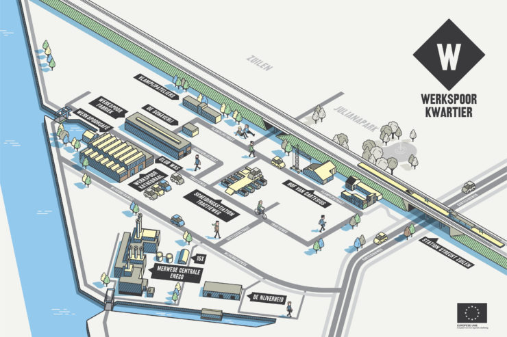werkspoorkwartier plattegrond utrecht