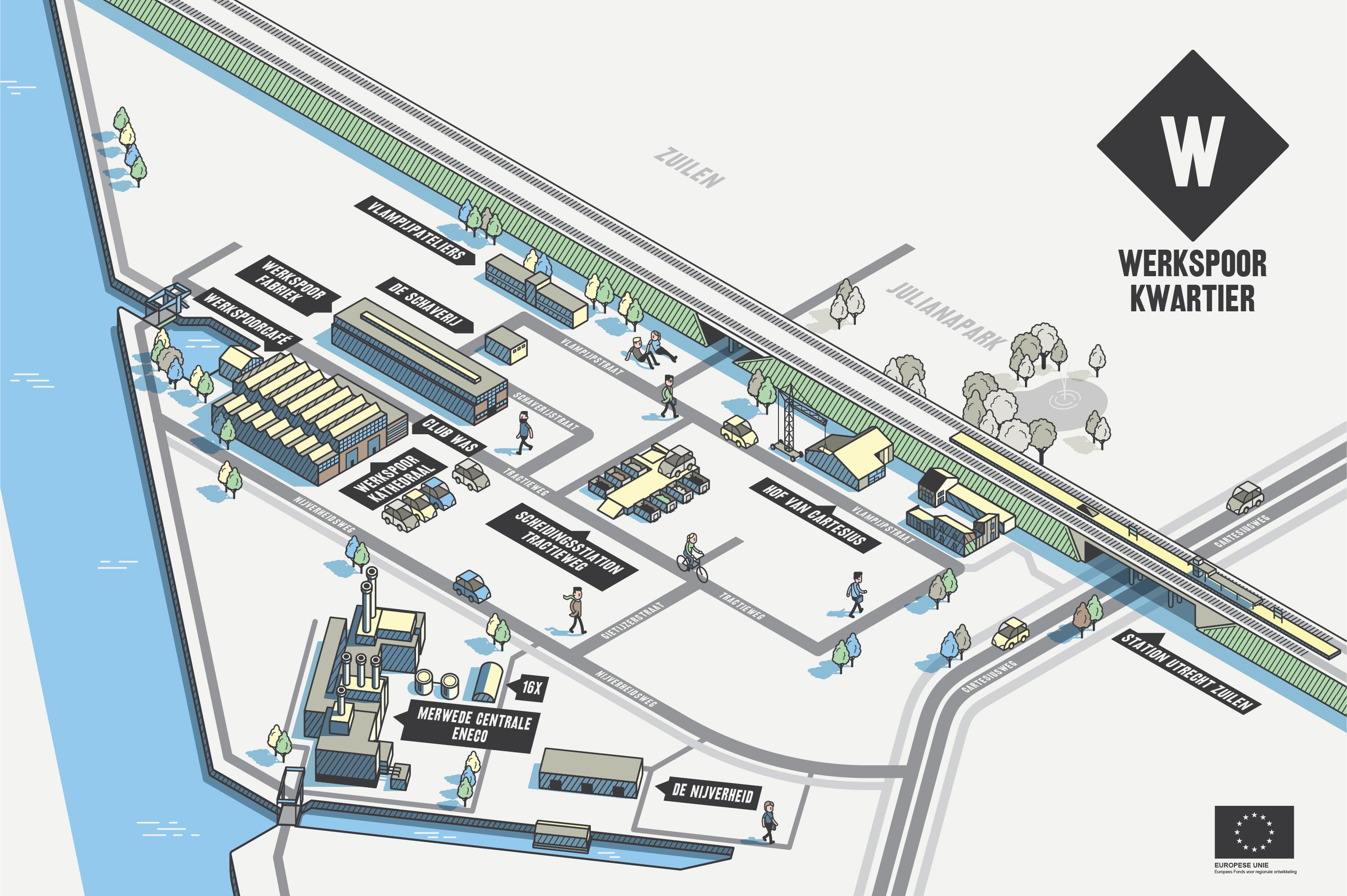 werkspoorkwartier locaties overzicht